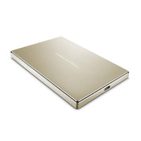 LaCie Porsche Mobile 2TB Portable HDD - Gold - USB 3.0/USB 3.1 Type-C