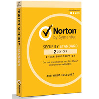 Norton Security Standard Retail - 1 Year  2 Licenses
