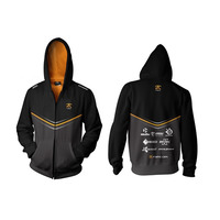 Fnatic Player Zipped Hoodie - 2XL