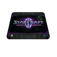 Steel Series QcK Mouse Pad - Heart Of The Swarm - 320mm x 270mm