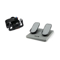 CH Racer Pack - Eclipse Yoke & Pro Pedals - For PC & Mac