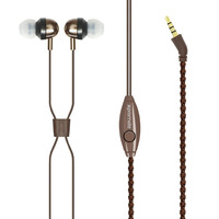 Promate Retro 3.5mm Earphones - Brown
