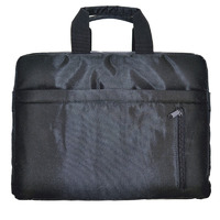TOP LOAD CARRYCASE FOR UP TO 15.6' NOTEBOOK  BLACK POLYESTER FABRIC