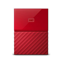 WD My Passport 4TB Portable HDD - Red