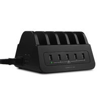 mBeat GorillaPower Charging Station - 5 USB Ports  2 Outlets
