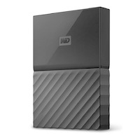 WD My Passport For Mac 1TB Portable HDD - Black - USB 3.0
