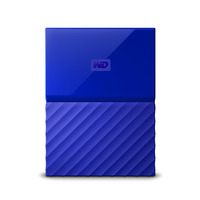 WD My Passport 2TB Portable HDD - Blue - USB 3.0