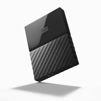 WD My Passport 4TB Portable HDD - Black - USB 3.0