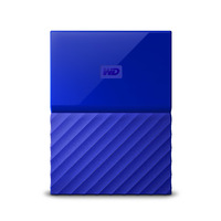WD My Passport 4TB Portable HDD - Blue - USB 3.0