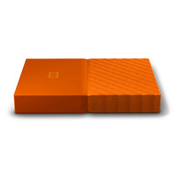 WD My Passport 4TB Portable HDD - Orange - USB 3.0