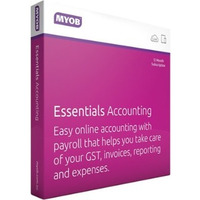 MYOB Essentials - 1 Year  with Unlimited Payroll