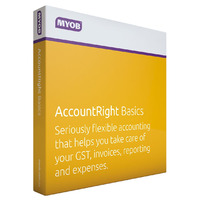 MYOB AccountRight Basics - 1 Year