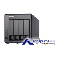 QNAP TS-431X-8G 8 Bay NAS - Quad Core 1.7GHz  8GB