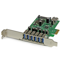 Startech PCIe Adapter - 6x USB 3.0  1x Internal USB 3.0