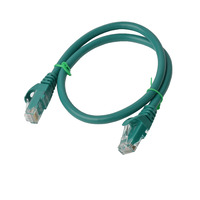 8Ware Cat6a Ethernet Cable 25cm - Green