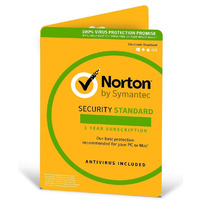 Norton Security Standard OEM - 1 Year  2 License