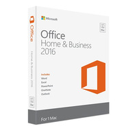 Microsoft Office Home and Business 2016 - 1 License For Mac