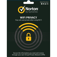 Norton WIFI Privacy 1.0 - 1 Year  10 Licenses