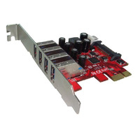 Shintaro PCIe Adapter - 4x USB 3.0