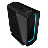 Aerocool Project7 P7-C1 Mid Tower - ATX - Black - Tempered Glass