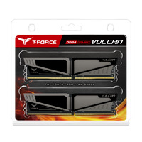Team Vulcan 8GB DDR4 - Grey - 2x4GB DIMM 2400Mhz CL14 1.2V