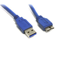 8Ware USB-A to Micro USB-B 3.0 Cable 1m