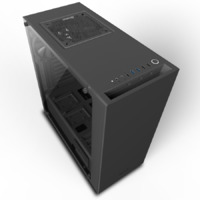 NZXT S340 Elite Mid Tower - ATX - Black