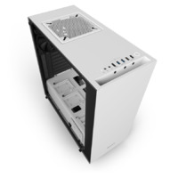 NZXT S340 Elite Mid Tower - ATX - White