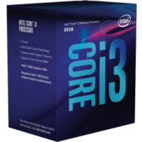Intel Core i3-8350K LGA1151 Processor - 4.0GHz  4-Core  91W TDP