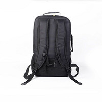 Backpack for up to 18' NB  Black with Yellow linings  Nylon 210D  Water resistant