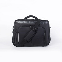 Clam Shell carrycase for up to 14' NB  Black Nylon 210D  Water resistant