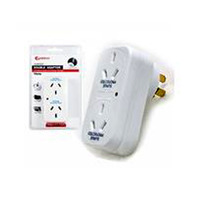 2 Outlet Adapter with Overload Protection