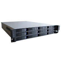 2U 12-Bay Hotswap Server Chassis - 650MM Deep