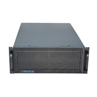 Rack Mountable Server Chassis Case 4U 650mm Depth with ATX PSU Window - No PSU - Rack Mountable Server Chassis Case 4U 650mm Depth with ATX PSU Window