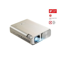 ZenBeam Go E1Z USB Pocket Projector  150 Lumens  Built-in 6400mAh   Up to 5-hour  Power Bank  Auto K - ASUS ZenBeam Go E1Z USB Pocket Projector  150 L