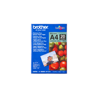 Brother A4 Glossy Paper 20 Sheets