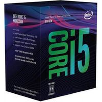 Intel Core i5-8600K LGA1151 Processor - 3.6GHz-4.3GHz 6-Core 95W TDP