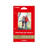 PP3014X6-100  100 Sheets  260 gsm Photo Paper Plus Glossy II - Canon Photo Paper Plus Glossy II<br /> * 4x6' <br /> * 260 gsm<br /> * 100 Sheets<br />