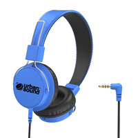 Verbatim Urban Sound Volume 3.5mm Headphones - Blue