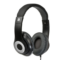 Verbatim Over-Ear Classic 3.5mm Headphones - Black