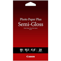 CANON PHOTO PAPER PLUS SEMIGLOSS 4 X 6 INCH 260GSM 20 SHEETS