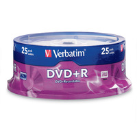 DVD+R 4.7GB 25PK SPINDLE 16X