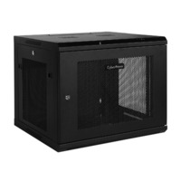 CR9U61001 - Carbon Wall Mount Enclosure  9U  48.26 cm (19 ')   60kg capacity  IP20
