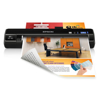 WorkForce DS40 Portable Scanner - Epson WorkForce A4 Portable Scanner<br /> * 600dpi Resolution<br /> * Wireless Scan<br /> * Lightweight and Travel-f