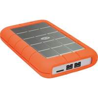 LaCie Rugged Triple 2TB Portable HDD - USB 3.0  FireWire 800