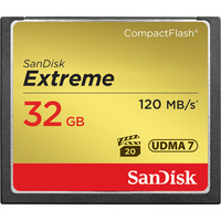 32GB Extreme CompactFlash