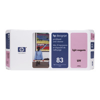 83 Light Magenta DesignJet UV Printhead and Printhead Cleaner