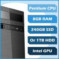Business 4 Me PC - Pentium, 8GB, 120GB SSD, Win10